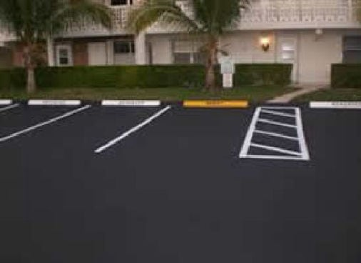 Passaic County NJ Commercial Paving : Parking Lots : Striping